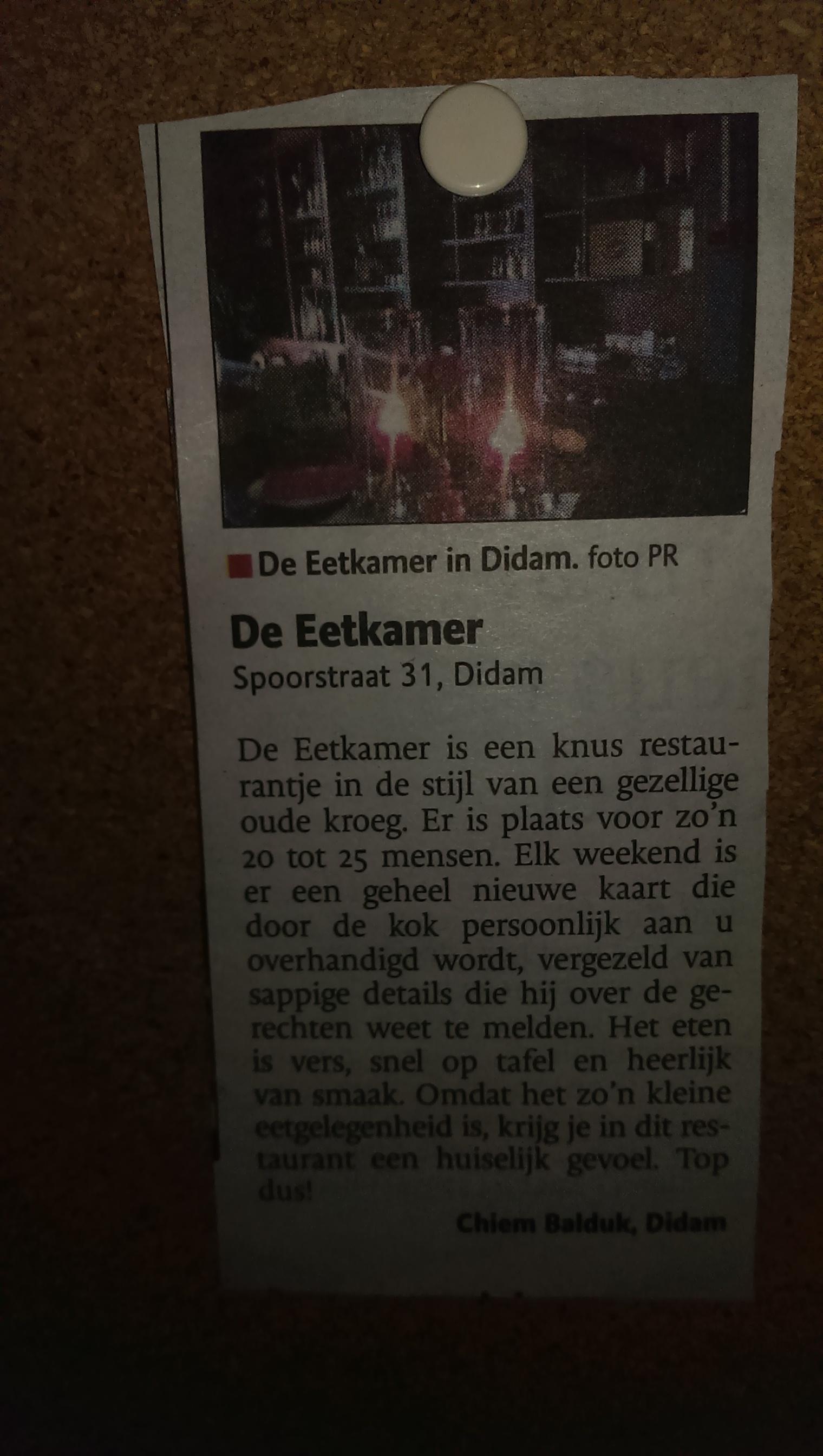Emejing De Eetkamer Didam Images - Serviredprofesional.com ...