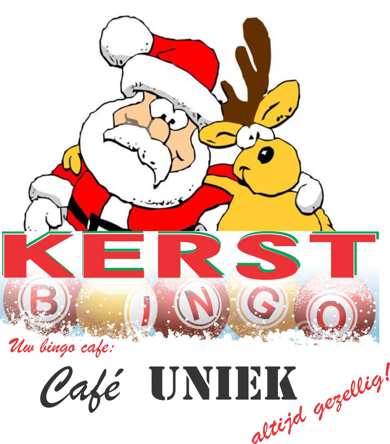 Kerstbingo – CAFE UNIEK – DE EETKAMER DIDAM